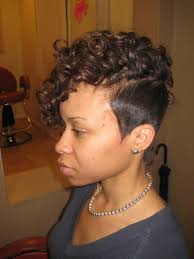 short hairstyles for african american hair style and color for woman