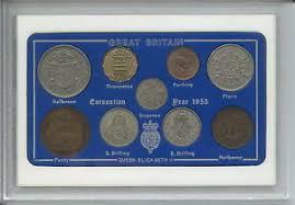 65th wedding anniversary gifts 1953 vintage coin set 65th birthday birth year present wedding