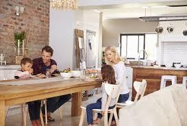 family kitchen design ideas bridge homes creating a cosy family kitchen diner bridge homes