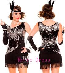 20s Halloween Costumes Buy Wholesale 20s Flapper Costume China 20s Flapper