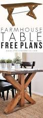 How To Make A Dining Room Table How To Make Your Own Farmhouse Table Farmhouse Table Base
