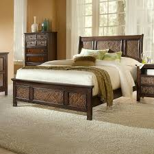 Sleigh Bed Pictures by Progressive Furniture P19 Kingston Isle Sleigh Bed The Mine