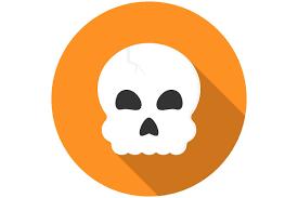 Halloween Icon Halloween Skull Icon Flat Icons Creative Market