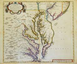 Map Of Pennsylvania A New Map Of Virginia Maryland And The Improved Parts Of