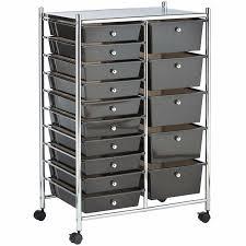 Rolling Bathroom Storage Cart by Rolling Storage Cart Ebay