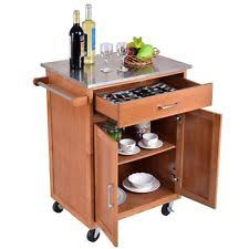 kitchen islands and trolleys stainless steel rolling cart ebay