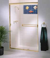 Cardinal Shower Door by Semi Frameless Shower Enclosures California Reflections
