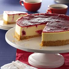 cranberry cheesecake recipe taste of home