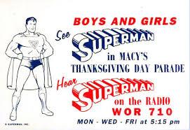 dc comics superman at macy s thanksgiving day parade comic