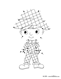dot coloring pages harlequin dot to dot coloring pages hellokids com
