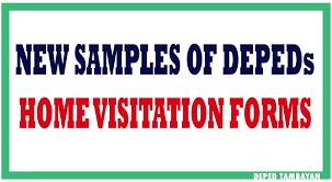 kindergarten progress report template new samples of home visit forms deped tambayan ph new samples of home visit forms