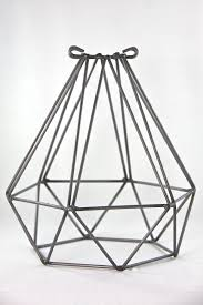 wire light bulb cage empirical style vintage interiors design