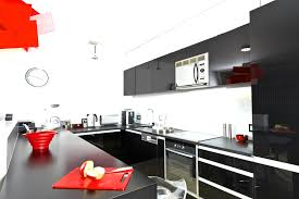 collection in black and red kitchen decor best 25 throughout