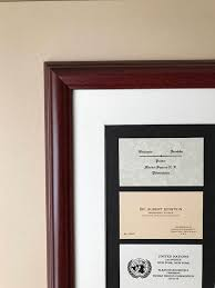 photo frame cards your career business cards custom framed and ready to display