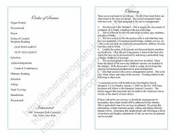 template for funeral program sle funeral program sle bifold program template