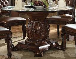 Glass Top Pedestal Dining Tables Glass Top Dining Tables For An Elegant Feeling