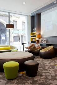 Ligne Roset Ottoman by Lyceum Converted Apartments By Oscar Properties Nordic Style
