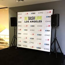back drop 8 x 8 step and repeat backdrop most popular size for