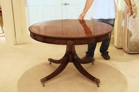 rosewood dining room furniture theodore alexander 48 inch round mahogany table al54014