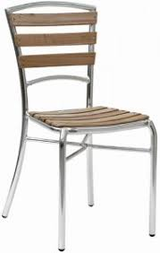 sedie rovere sedia struttura in alluminio anodizzatoa lw12 saldata doghe in