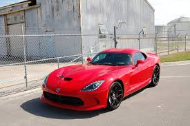 Dodge Viper Red - a good life with cars coffee and a captivating viper