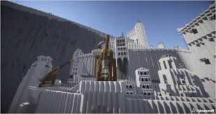 Lotr Map Minas Tirith Lord Of The Rings Map 9minecraft Net