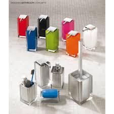 Rainbow Bathroom Accessories by Bright Designer Freestanding Bathroom Accessories Collection