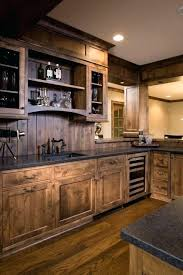 Rustic Cottage Kitchens - rustic cottage kitchen cabinets cabin style log cabinet pulls