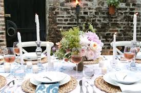 How To Throw A Backyard Party A Backyard Dinner Party In Charleston Entertaining Idea Of The