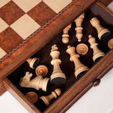 camphor 19 in chess and checkers set with storage hayneedle