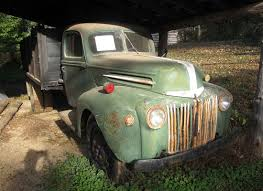 Vintage Ford Trucks Pictures - antique farm equipment at falls mill museum rural ramblings