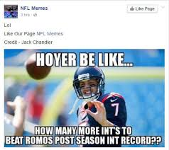 Brian Hoyer Memes - texans nfl s wild card losers get savaged via memes houston chronicle