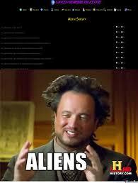 Humans Meme - aliens using human surveys by recyclebin meme center