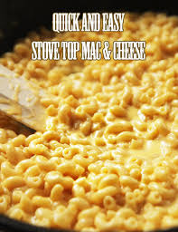 easy macaroni cheese quick and easy stove top mac cheese in 15 minutes kitchen