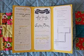 Wedding Programs Trifold Tri Fold Wedding Invitations Card Design Wedding Decor Theme