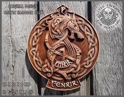 fenrir wolf tyr odin viking valhalla home decor norse thor