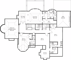 Professional Floor Plans Featured House Plan Pbh 6000 Professional Builder House Plans