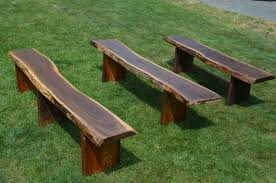 live edge outdoor table reclaimed wooden benches outdoor garden benches live edge