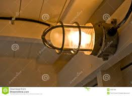 Ship Light Fixture Wooden Ship Lighting Stock Photo Image Of Ship Safety 3982168
