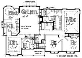 split foyer floor plans split entry house plans design basics