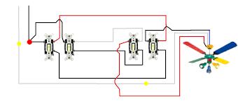hunter 4 wire ceiling fan switch wiring diagram for 3 speed ceiling fan switch in hunter throughout 4