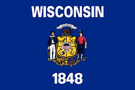 Maine State Flag Flag Of Wisconsin Wikipedia