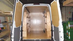 Paneling by Van Partition Insulation Paneling And Shelving Package Splash
