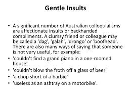 australian colloquialism ppt download