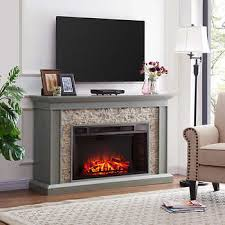 Electric Fireplace With Mantel Fireplaces Costco