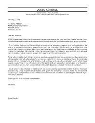 sample cover letter for a teaching job new sample of cover letter