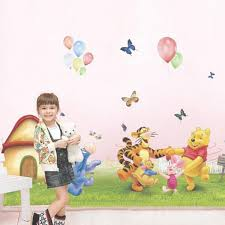 winnie the pooh giant wall stickers home design