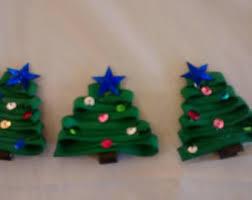 christmas tree bows christmas tree bows etsy