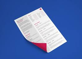 Indesign Resume Free Indesign Resume Template With Minimal Design