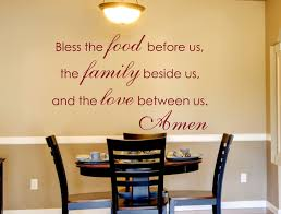 Dining Room Decals Wall Decals For The Home Bless The Food Quote Wall Decals By